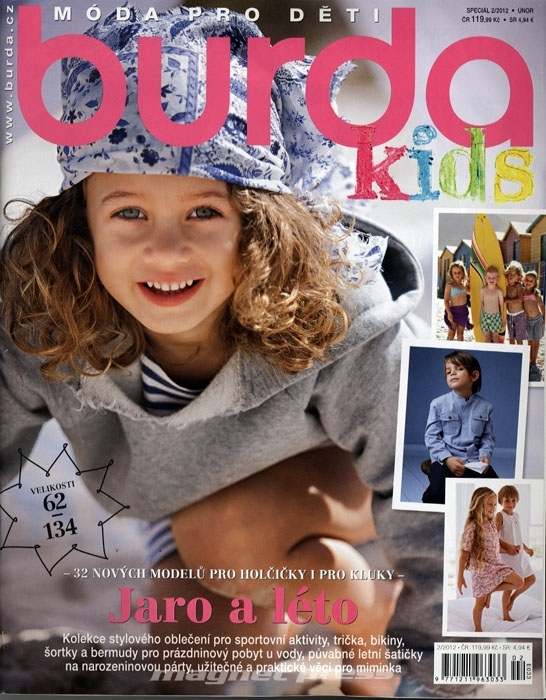 fdb63d037 Burda speciál - Móda pro děti - E033 - MAGNETPRESS.cz