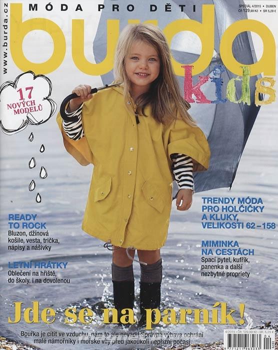 ea28850f4 Burda speciál - Móda pro děti E079 - MAGNETPRESS.cz