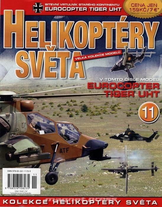 1d4c1610624b Helikoptéry světa č.11 - MAGNETPRESS.cz