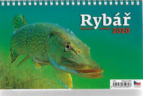 Stolný kalendár Rybář 2020