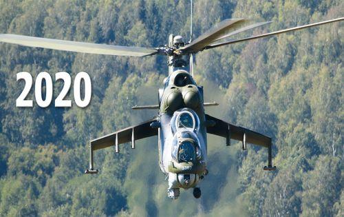 Stolný letecký kalendár 2020