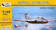 Aero L-29 Delfin 'Varšavská smlouva' (2v1) - model 1:144
