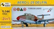 Aero L-29 Delfin 'Zahraniční uživatelé' (2v1) - model 1:144
