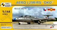 Aero L-29R/RS Oko ,Průzkumný Delfin' - model 1:144