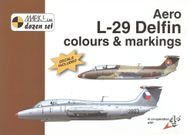 Aero L-29 Delfin colours & markings 1:48