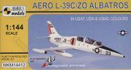 Aero L-39C/ZO Albatros 1/144