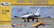 Aero L-39V Albatros & Letov KT-04 Target ( mierka 1/144 )