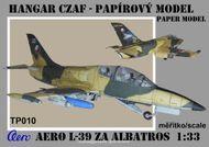 Aero L-39 ZA Albatros 1:33 - papírový model