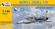 Aero L-39ZA Albatros/L-139 Albatros 2000 'Lehký bitevník' ( mierka 1/144 )