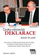 Česko-německá deklarace dvacet let poté (I. vydání)