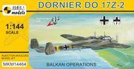 """Dornier Do 17Z-2/3 """"Balkan Operations"""" - stavebnica"""