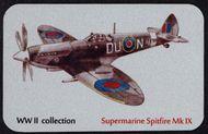 Kovová magnetka - Motív Supermarine Spitfire Mk IX