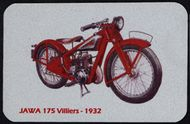 Kovová magnetka - Motív Jawa 175 Villiers 1932