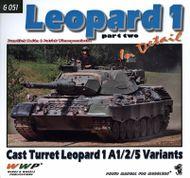 Leopard 1 Part Two Cast Turret Leopard 1A1/2/5 Variants