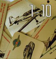 Magnetka (1 až 10) - 100 let československého letectví 1918-2018