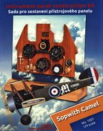 Sada Sopwith Camel No. 1007, 1/4 scale