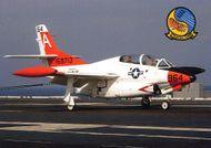 T-2 Buckeye, Serial 159713 - pohľadnica