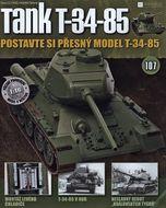 Tank T-34-85 č.107