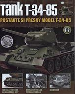 Tank T-34-85 č.112