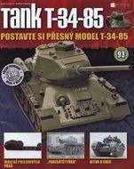 Tank T-34-85 č.93