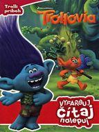 Trollovia - Vyfarbuj, čítaj, nalepuj - Trollí príbeh