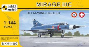 Model Mirage IIIC 'Delta-wing Fighter' (1:144)