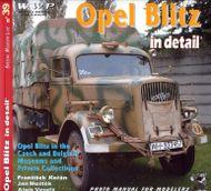 Opel blitz in detail