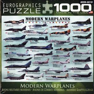 Puzzle 1000: MODERN WARPLANES