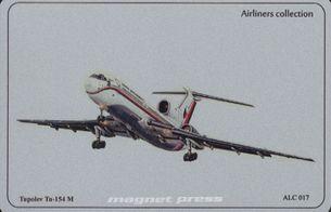 Tupolev Tu-154 M - ALUMCARD